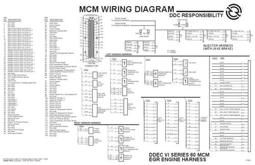 Ddec 6 Wiring Diagram Generator Wiring Diagram, Cummins Wiring