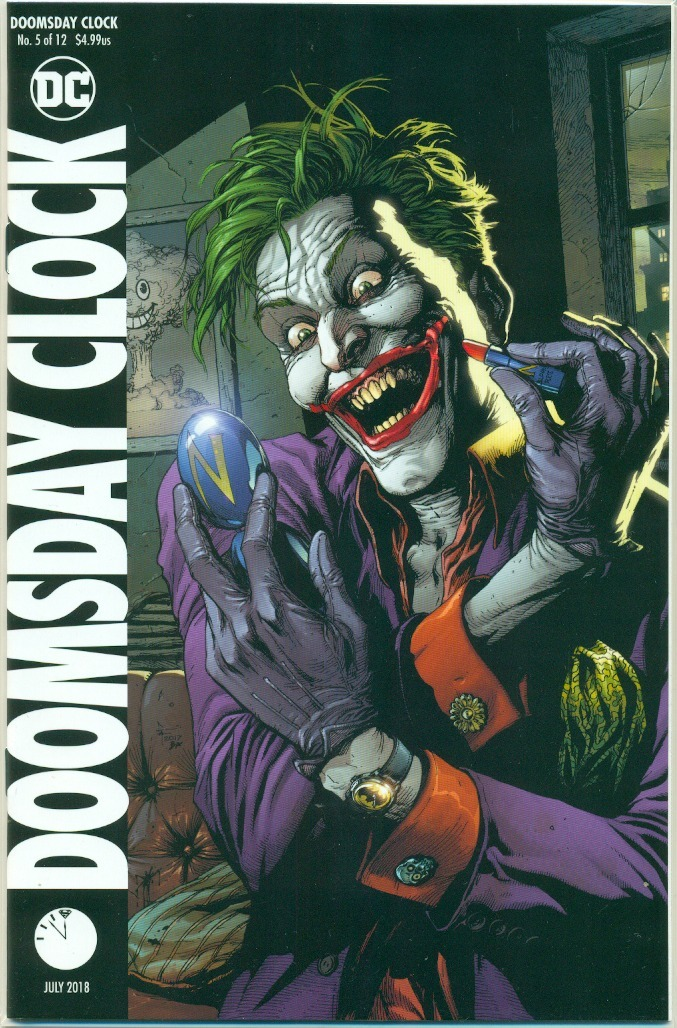 Rba Revistas Doomsday Clock 5 Portada Variante Joker Dc Comics Ingles
