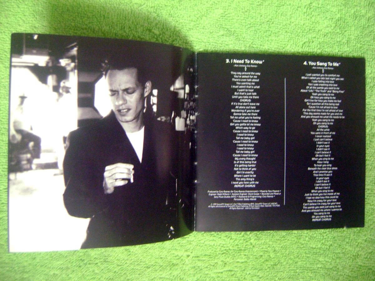 Marc Anthony Libre Eam Cd Marc Anthony When I Dream At Night 1999 Hector