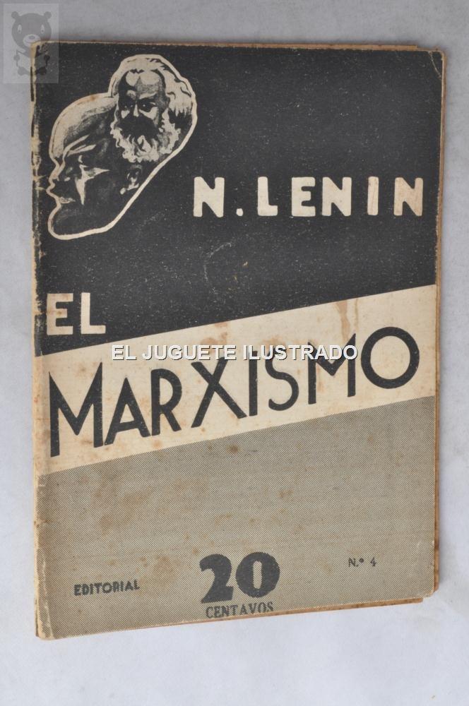 El Marxismo Lenin N4 1931 Folleto Panfleto Popular Ed Teibos - $ 126