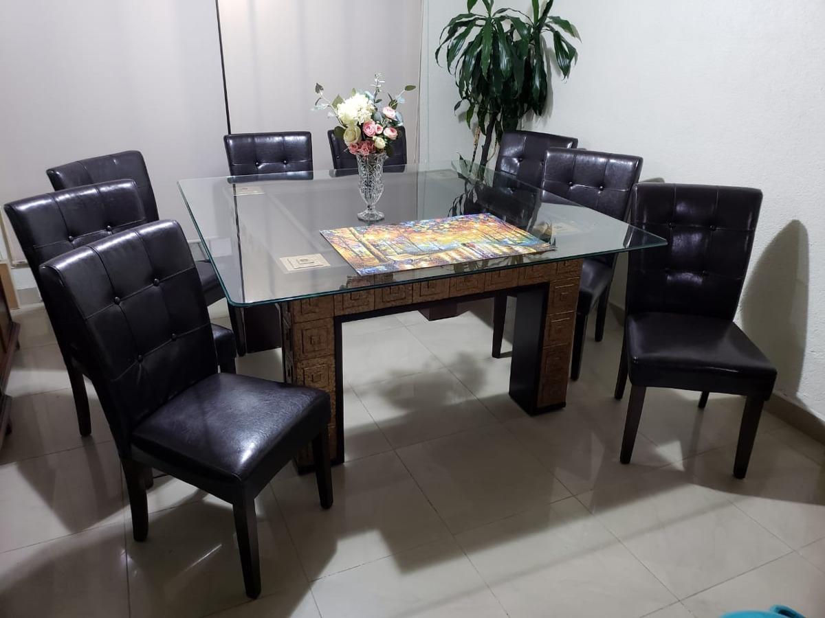 Mesas De Cristal Y Madera Para Comedor | Mesas De Centro Cómodas Y ...