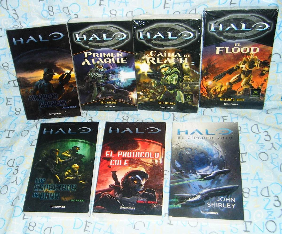Libros Halo Envío Gratis 7 Libros Halo Español El Flood William C