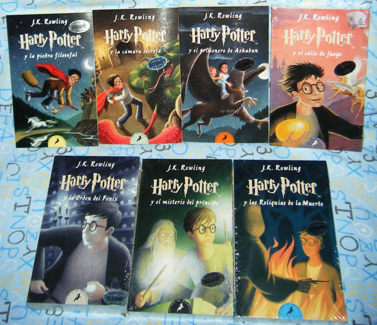 Pack Todos Los Libros De Harry Potter Libros De Harry Potter Libro De Hechizos De Harry Potter