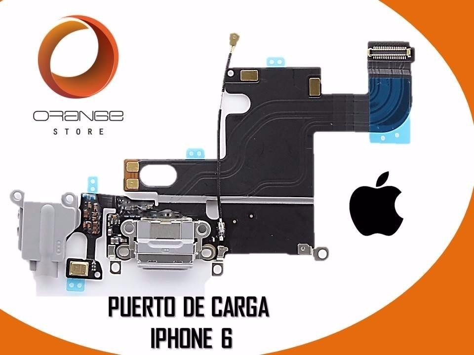 Iphone 5s Libre Precio Flex Puerto De Carga Iphone 6 6g (original) - Bs. 49.975