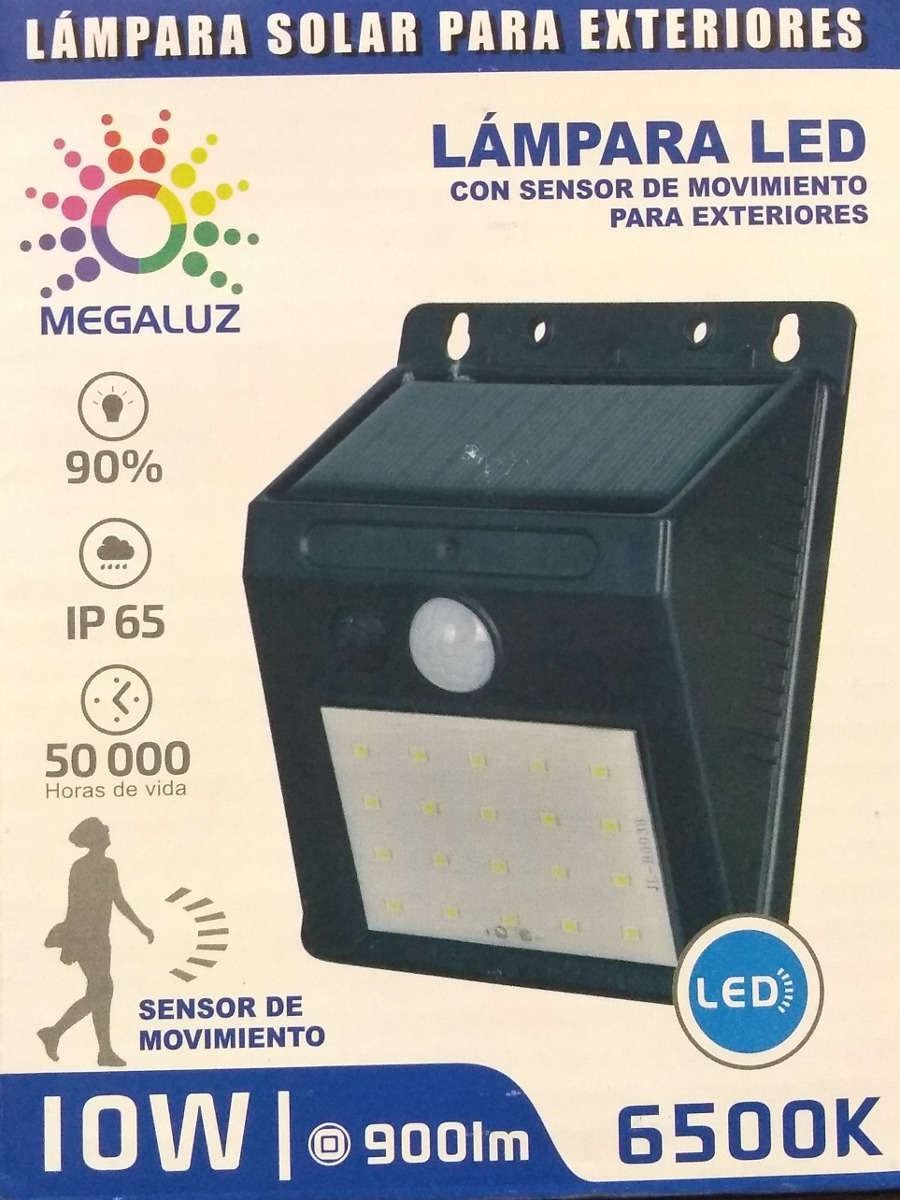 Lamparas Led Para Patios Foco Solar Recargable 20 Led Exterior Pasillo Patio Escalera