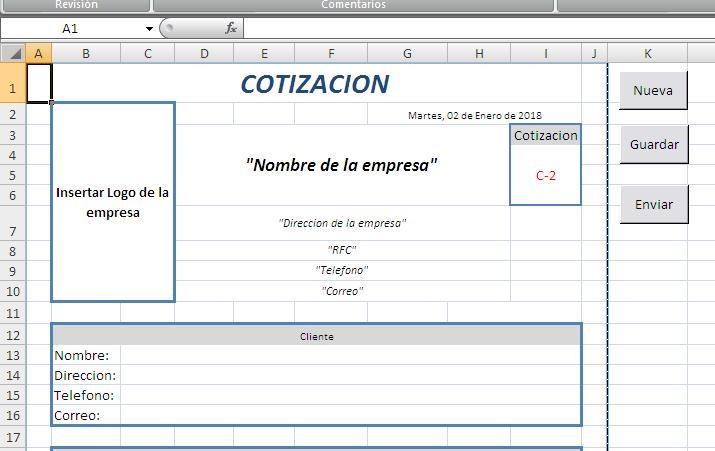 formato para cotizacion en excel acurlunamedia formato para cotizacion en excel acurlunamedia formato para cotizacion en word