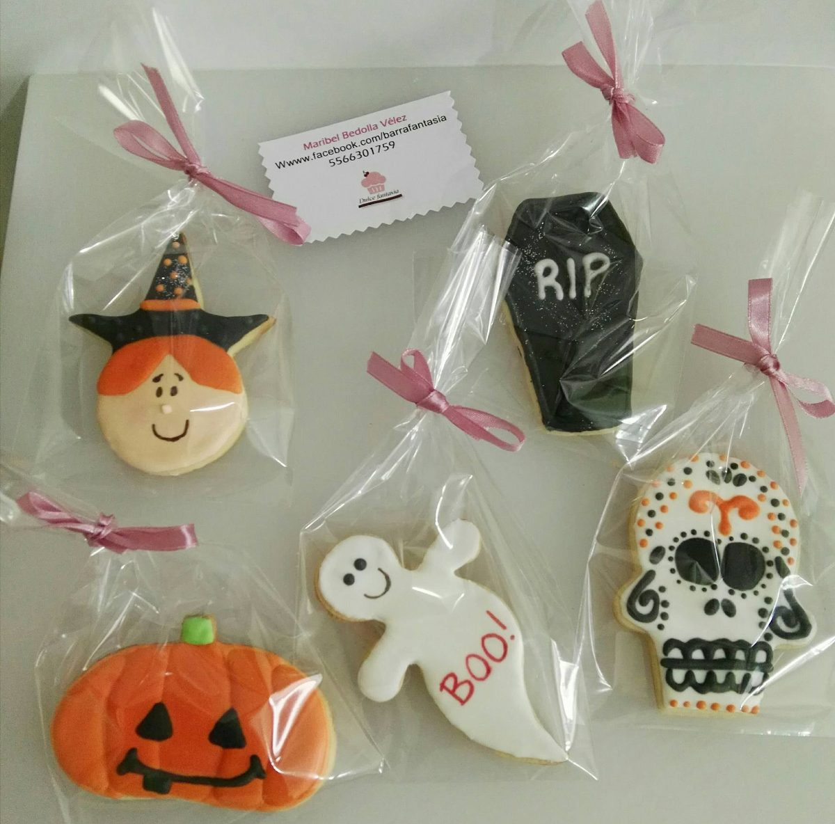 Precio De Galletas Decoradas Galletas De Halloween Galletas Decoradas 35 00 En