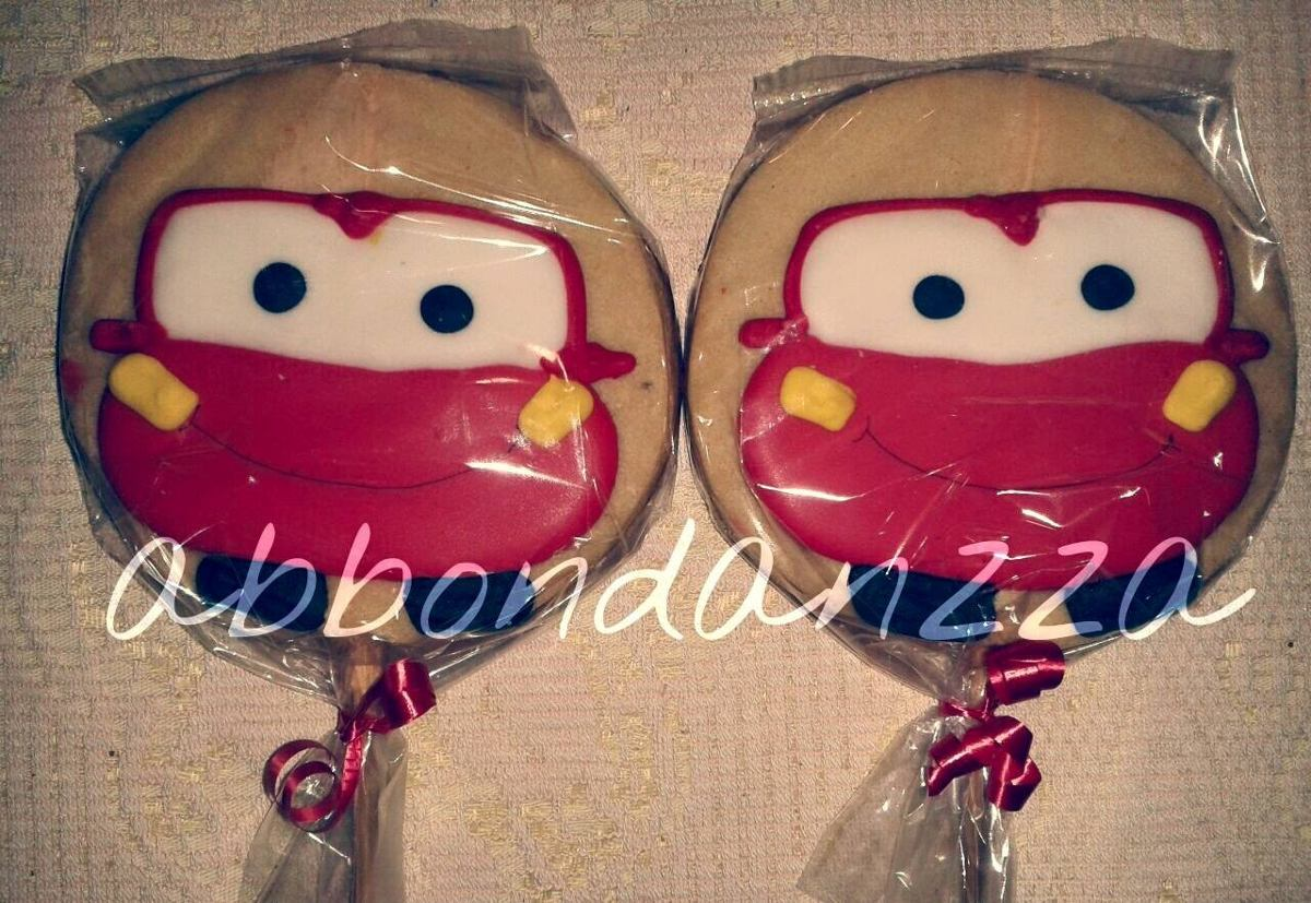 Precio De Galletas Decoradas Galletas Decoradas Cars Mcqueen Mate Mamuts Bubulubus