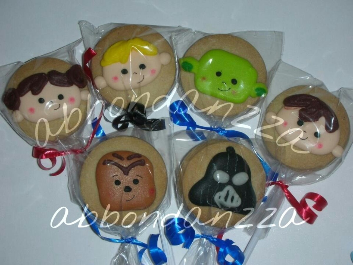 Precio De Galletas Decoradas Galletas Decoradas Star Wars Mamuts Bubulubus 10 00 En