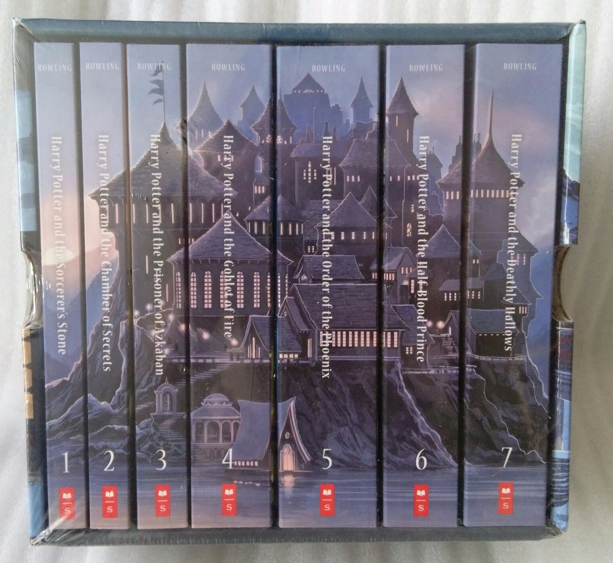 Comprar Libros De Harry Potter Harry Potter Box Set Libros Colección Castillo Hogwarts