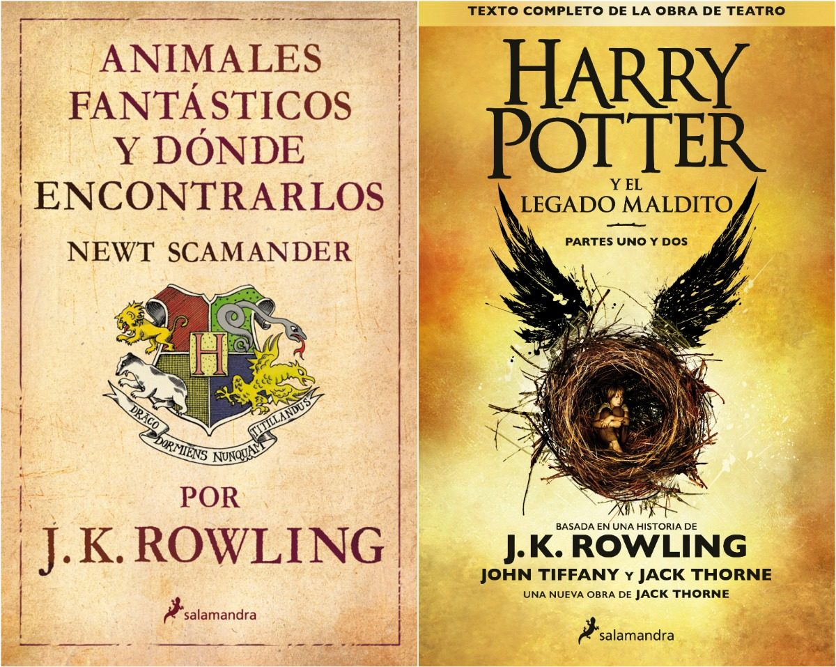 Pack Todos Los Libros De Harry Potter Harry Potter Legado Maldito 43 Animales Fantásticos 319