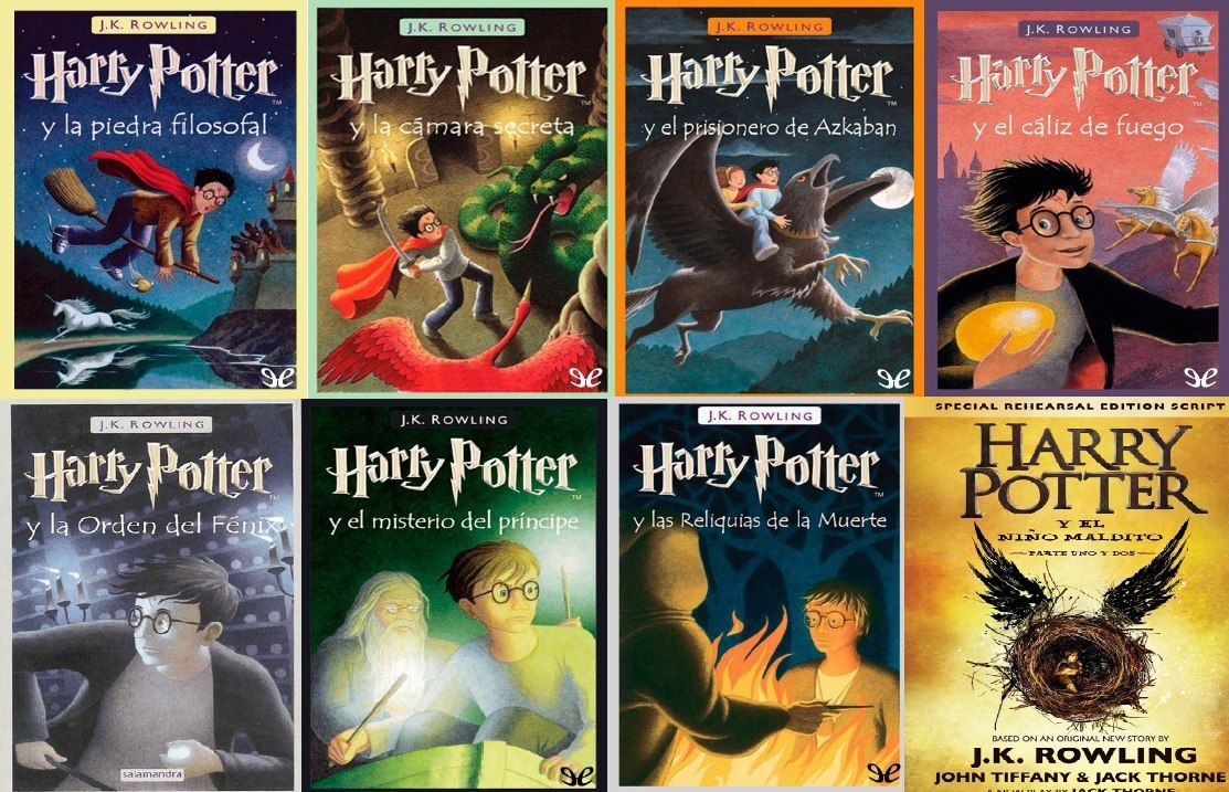 Libros De Harry Potter Pdf Harry Potter Saga Completa 21 Libros Pdf