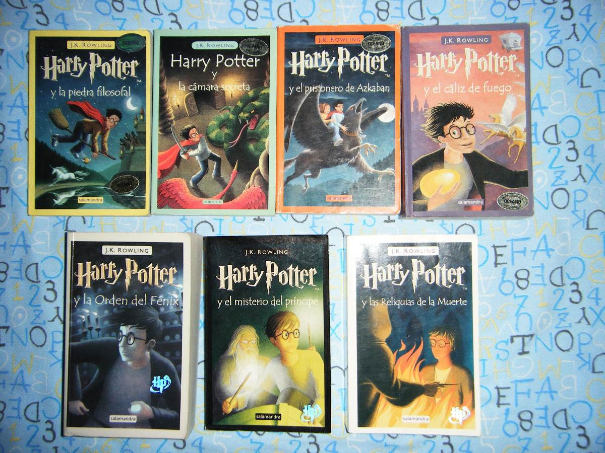 Comprar Libros De Harry Potter Harry Potter Y La Piedra Filosofal Original J K