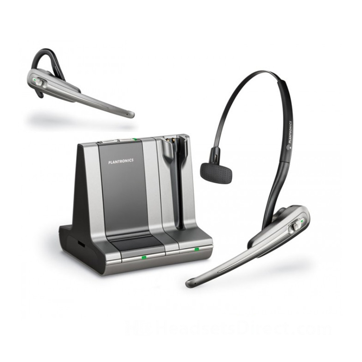 Pc Telefon Headset Inalámbrico Plantronics Savi Office Wo100 Pc Telefon