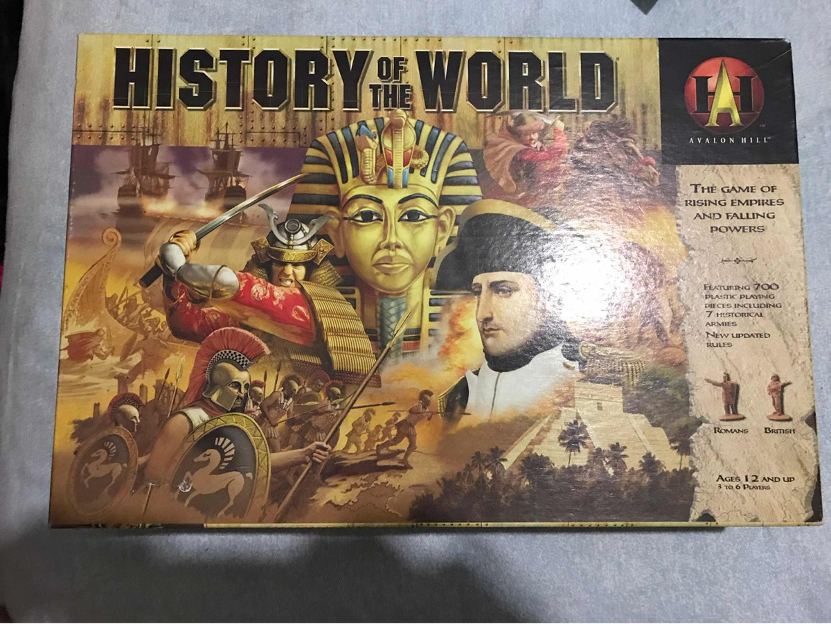 Avalon Juego De Mesa History Of The World Juego De Mesa Avalon Hasbro 2001 2 489 00