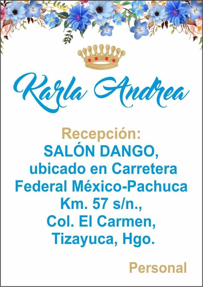 Invitacion, Plantilla, Xv Años, Fiesta, Formato Editable, - $ 5000