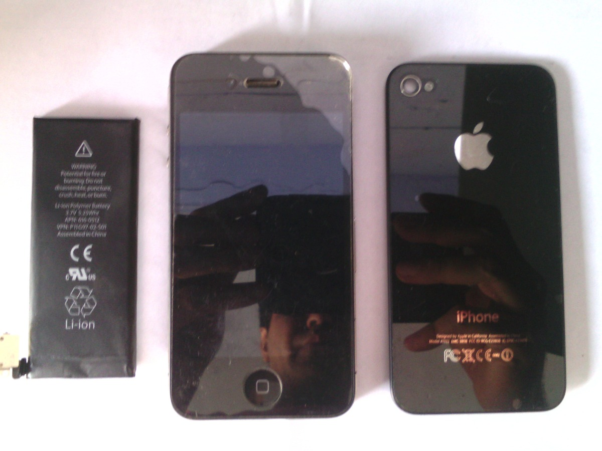 Vender Iphone 4 Libre Iphone 4 A1332 Color Negro Para Reparar Piezas Refacciones