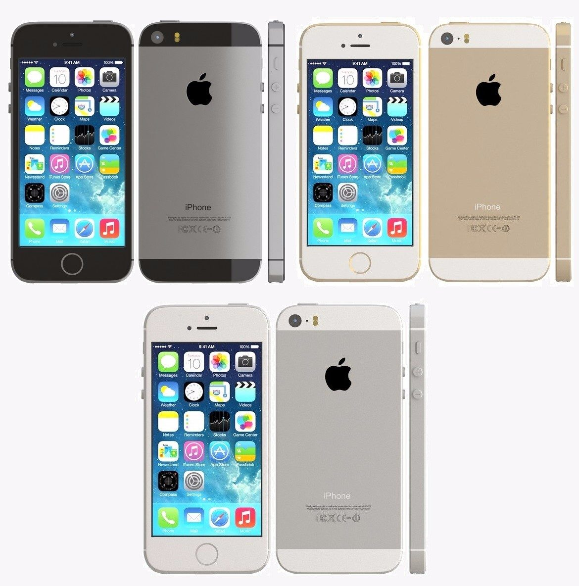 Phone House Iphone 5 Libre Iphone 5s 16gb Libre Telcel Att Movistar Dorado Plata Gris