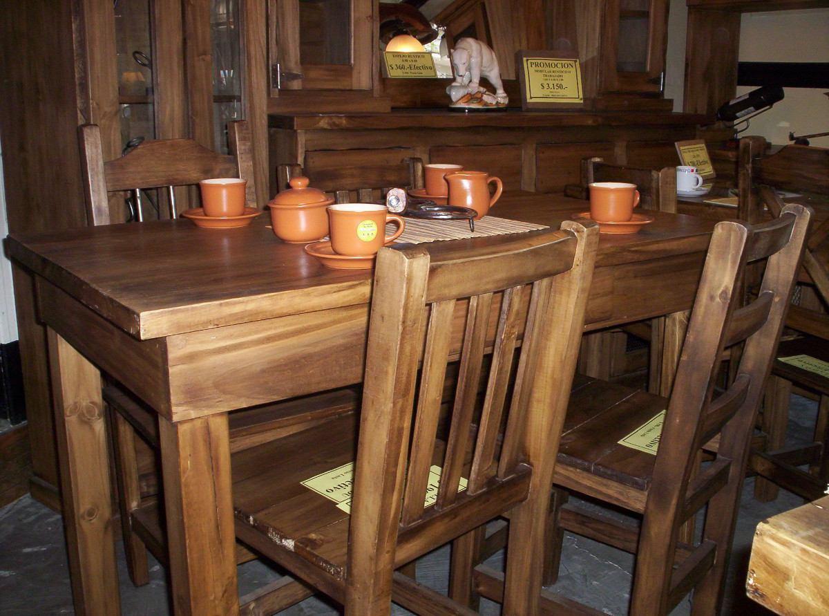 Mesas De Cocina Madera Rustica | Mesas De Cocina Madera Rustica ...