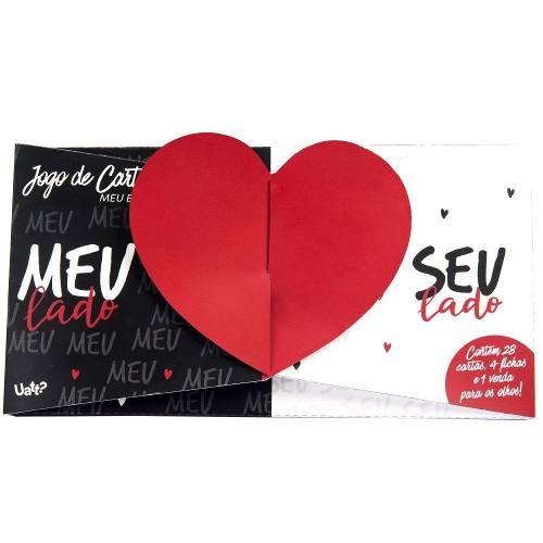 Jogo De Cartas Para Namorados - Meu E Seu - R$ 45,90 em Mercado Livre