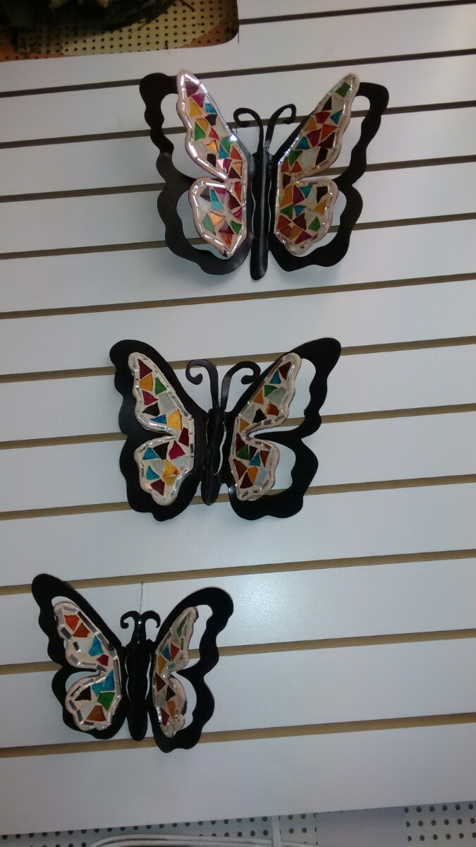 Decorar Mesa Jardin Juego De Mariposas Para Decorar Pared De La Sala - $ 700