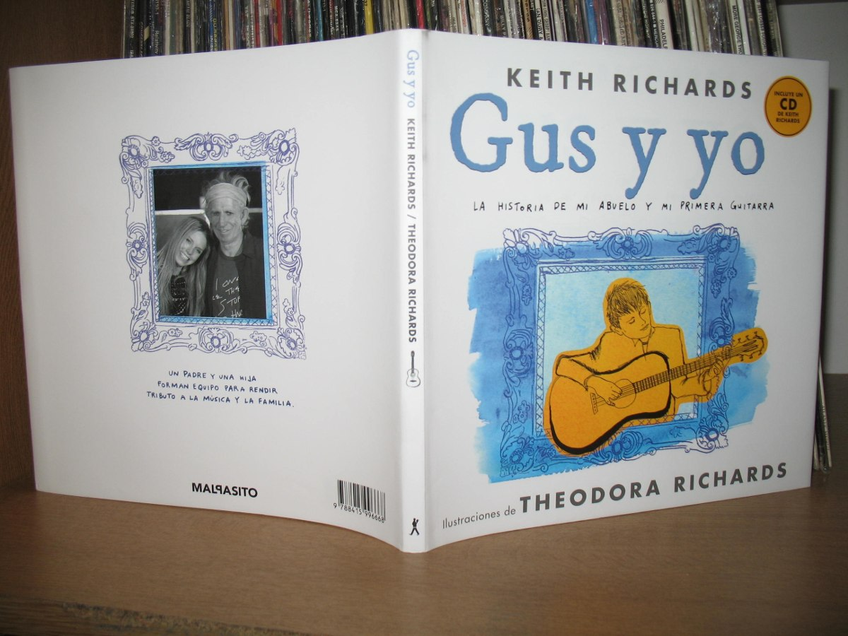 Libro De Keith Richards Keith Richards Libro Gus Y Yo Europa Castellano Nuevo Stock