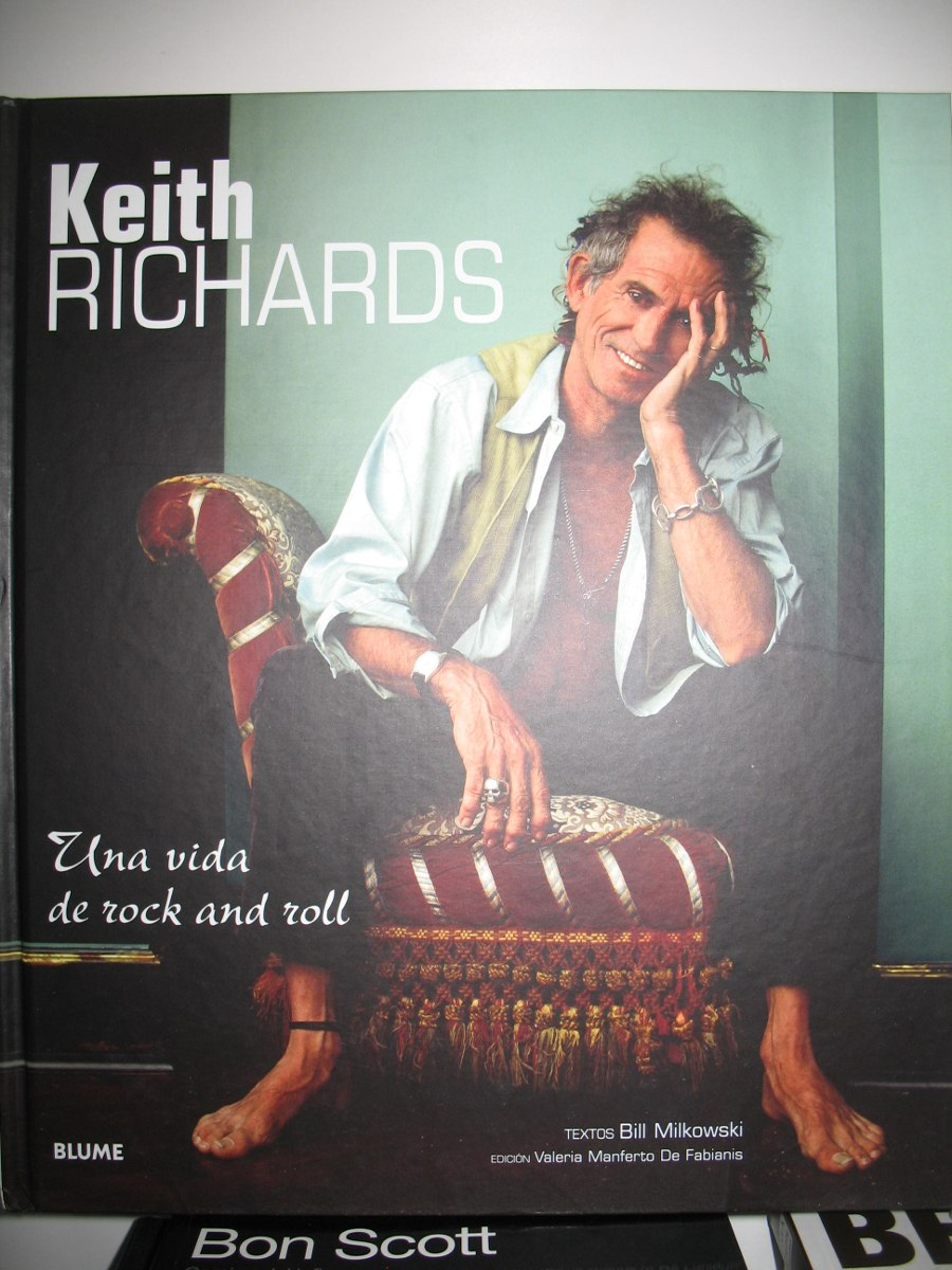 Libro De Keith Richards Keith Richards Libro Una Vida De Rock Roll Castellano Nuevo