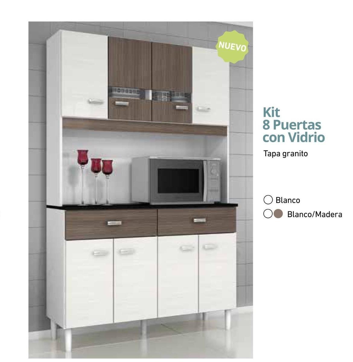 Kit Muebles Cocina | Muebles Cocina Alacena Armario Kit 5 Puertas ...