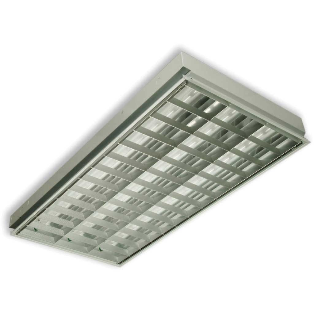 Catalogo Lamparas Philips Lampara Especular Lf 32 Paralux 3x32 No Incl Tubo Bs 59