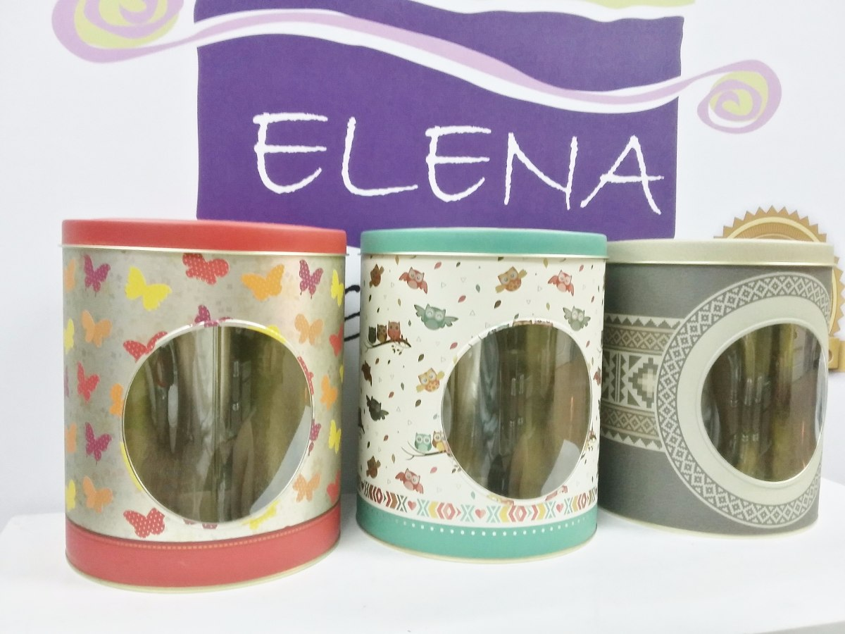 Latas De Galletas Decoradas Latas Con Visor Para Galletitas Cookies Decoradas Vintage