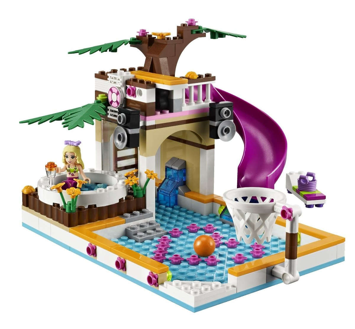 Lego Friends Piscina Lego Friends Heartlake City Pool 41008 3 299 00 En