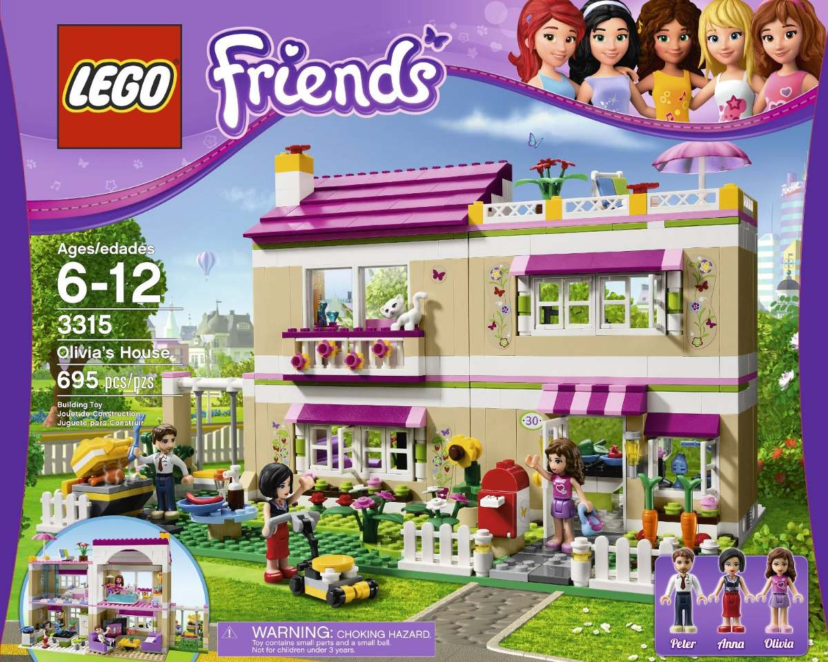 Lego Friends Piscina Lego Friends La Casa De Olivia 3315 100 000 000 En