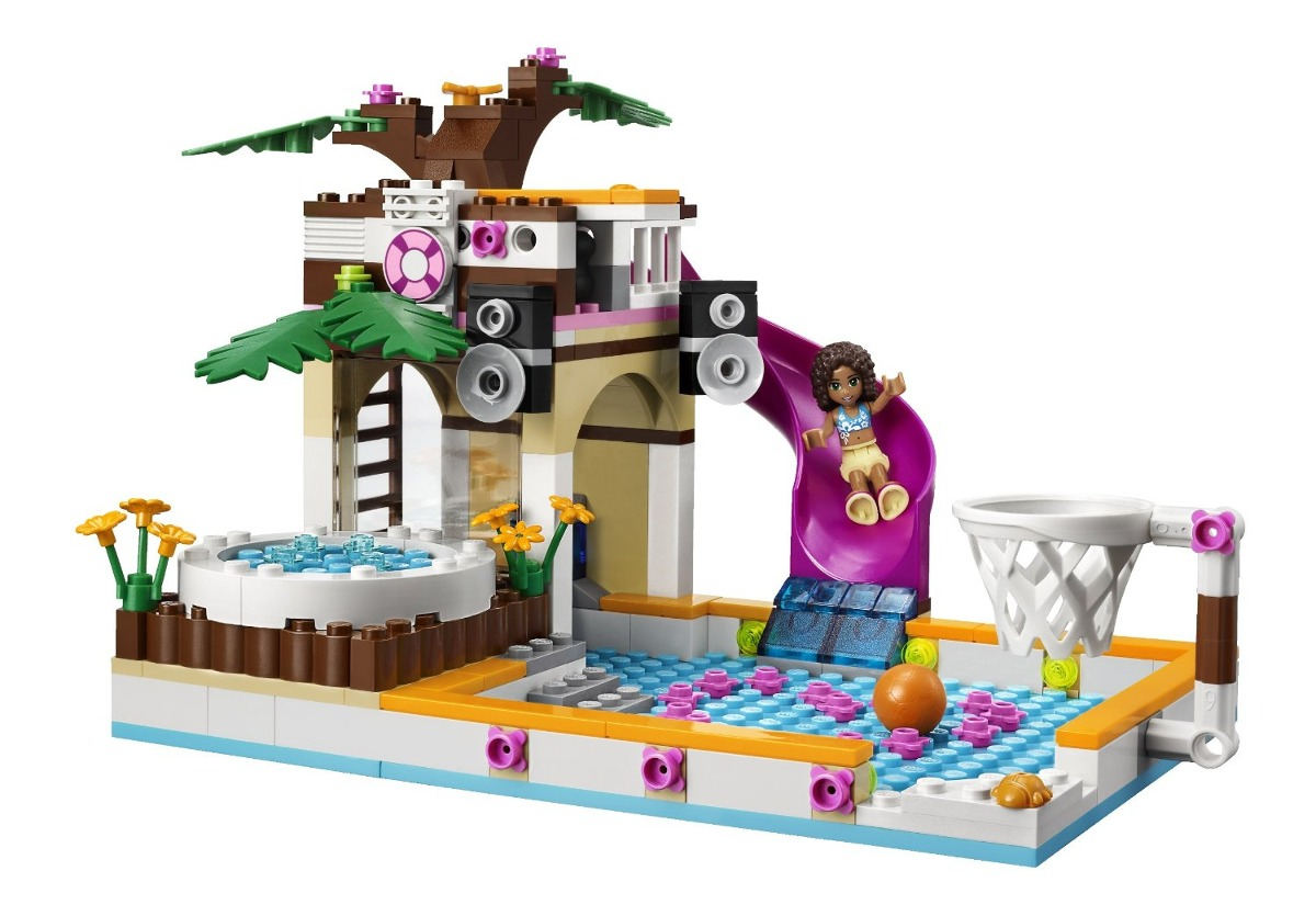 Lego Friends La Piscina Lego Friends La Piscina De Heartlake 41008 100 000 000