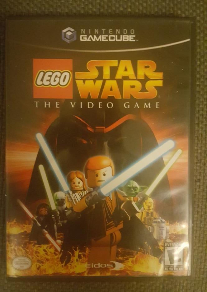 lego star wars game cube
