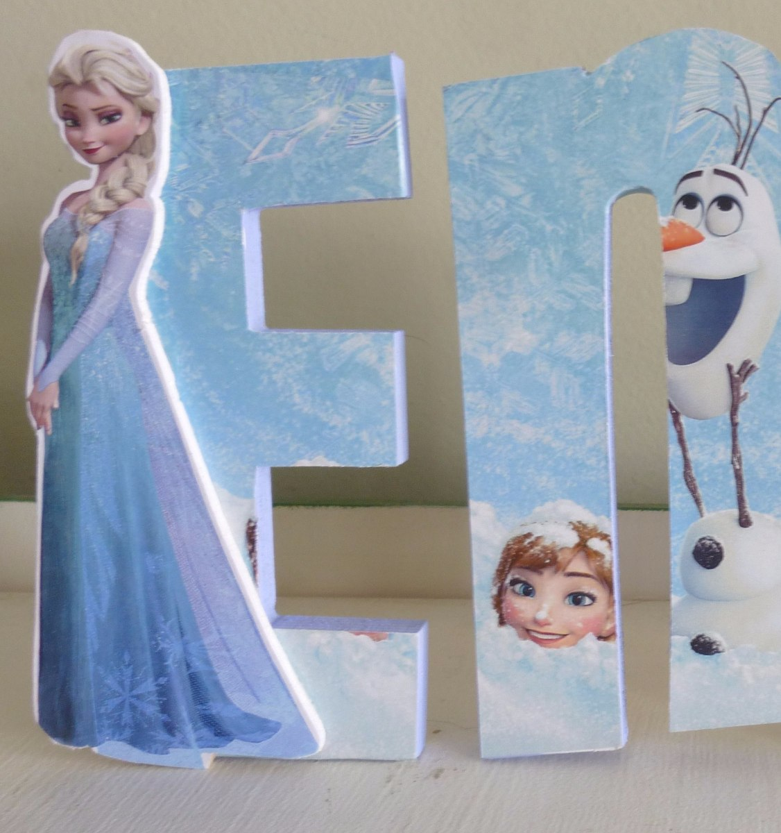Libre Soy Frozen Letra Letras 15cm Decoradas Frozen Plants Vs Zombies Marvel
