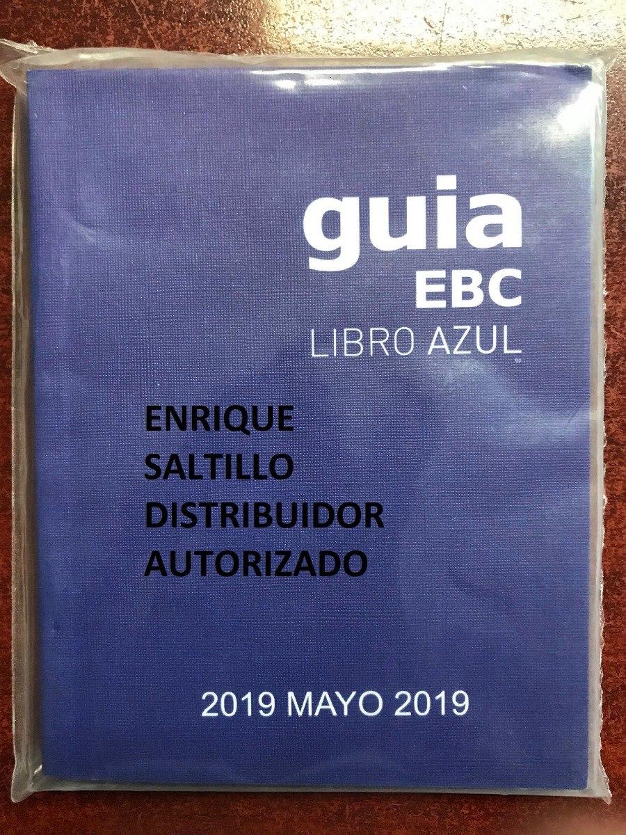 libro azul 2019