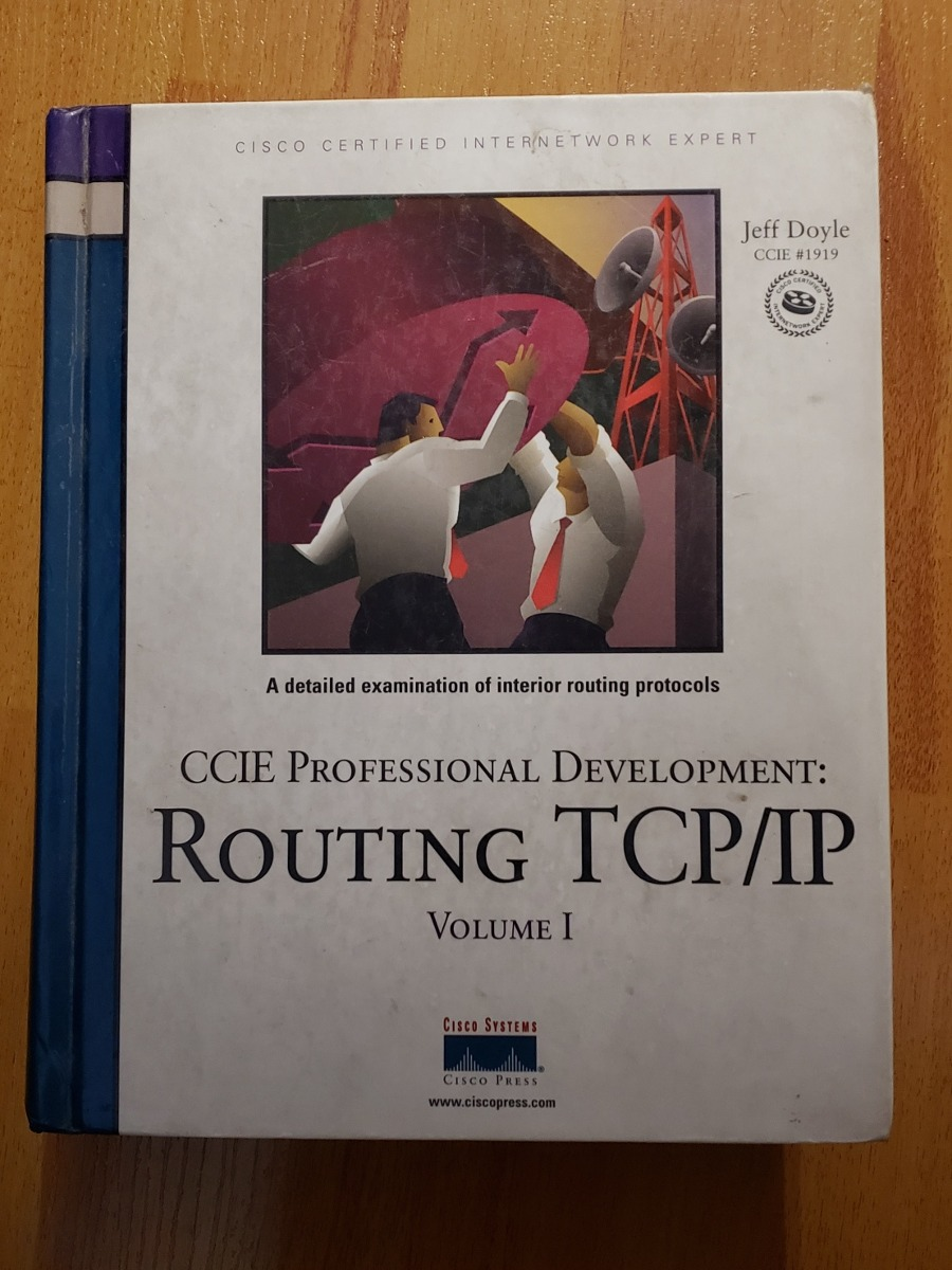 Libro Cisco Libro Cisco Press Ccie Pro Redes Routing Tcp Ip Vol 1 990 00