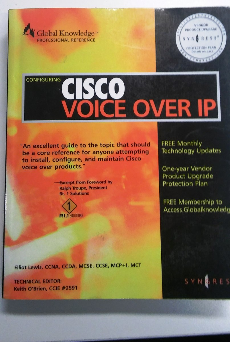 Libro Cisco Libro Cisco Voice Over Ip