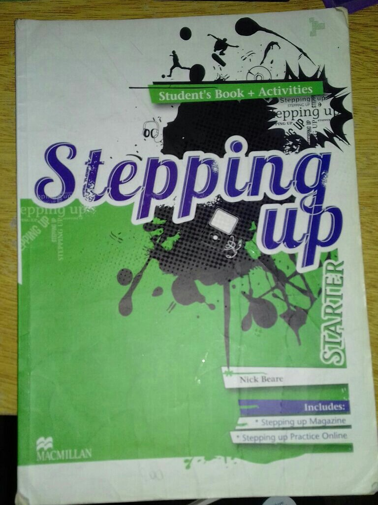 Libros De Macmillan Libro De Ingles Stepping Up Editorial Macmillan 200 00