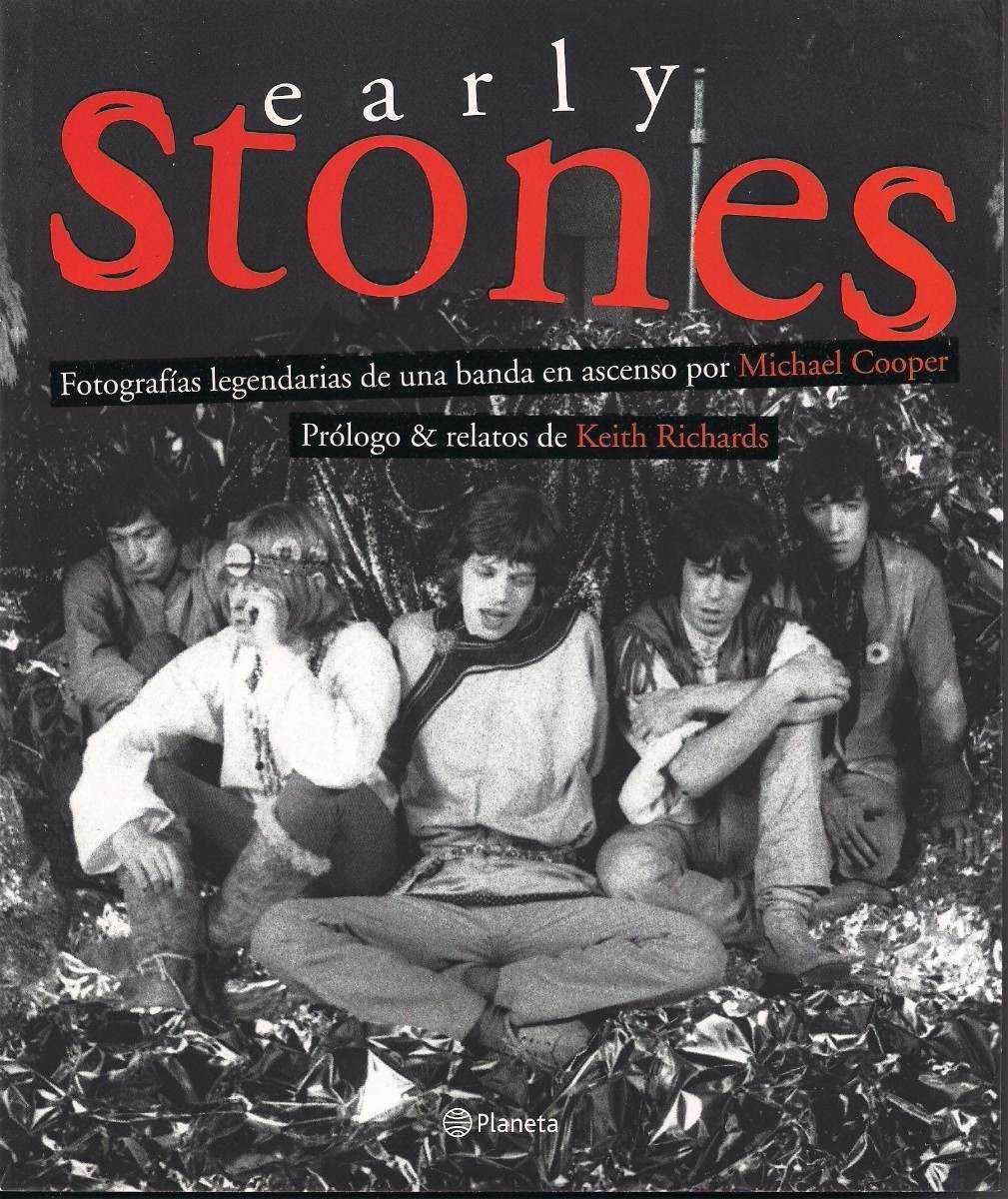 Libro De Keith Richards Libro Early Stones Michael Cooper Keith Richards