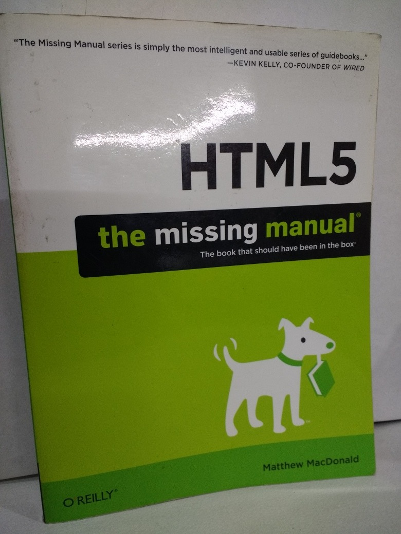 Libro Html Libro Html 5 The Missing Manual De Matthew Macdonald 850 00