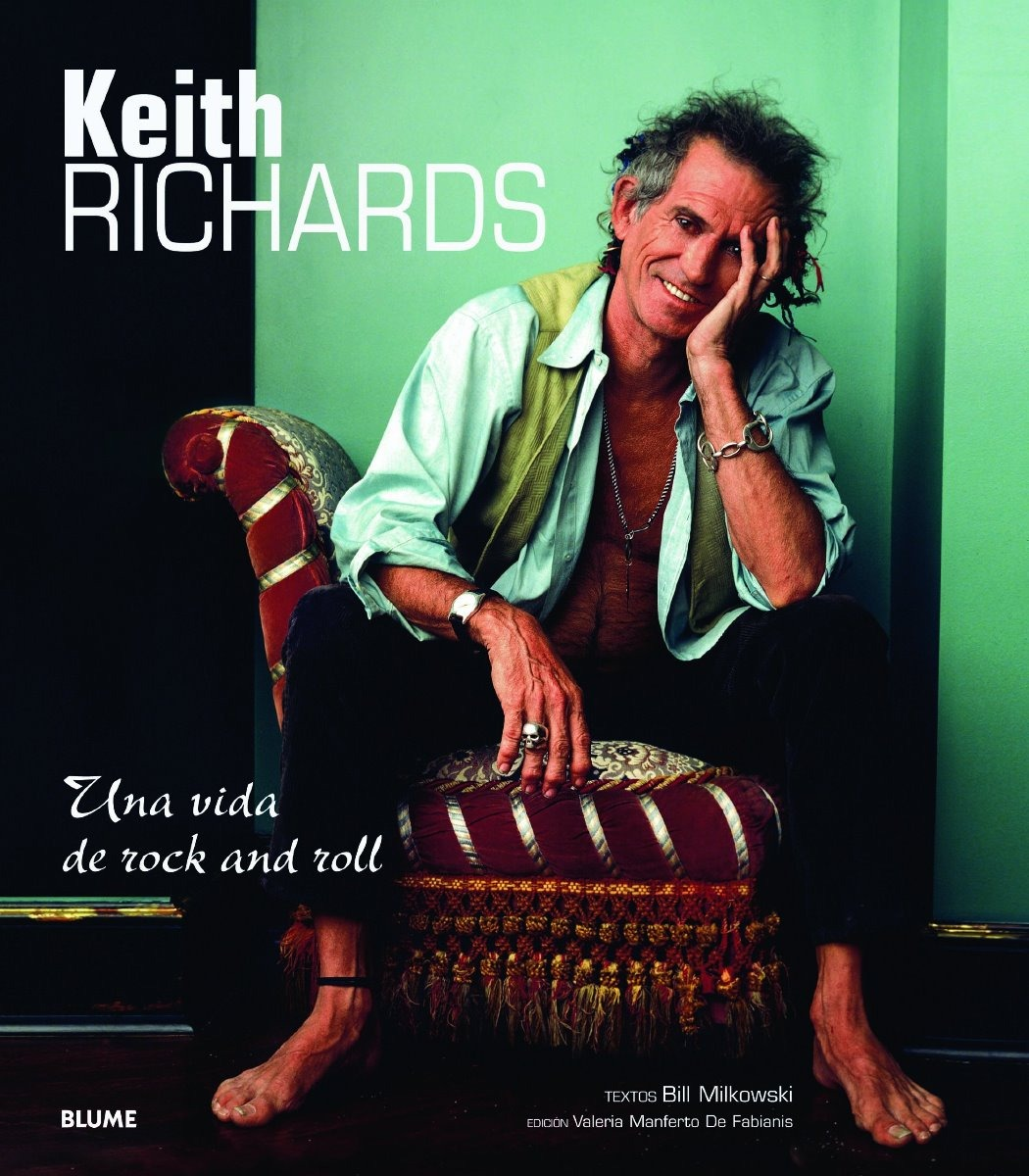 Libro De Keith Richards Libro Keith Richards Una Vida De Rock And Roll
