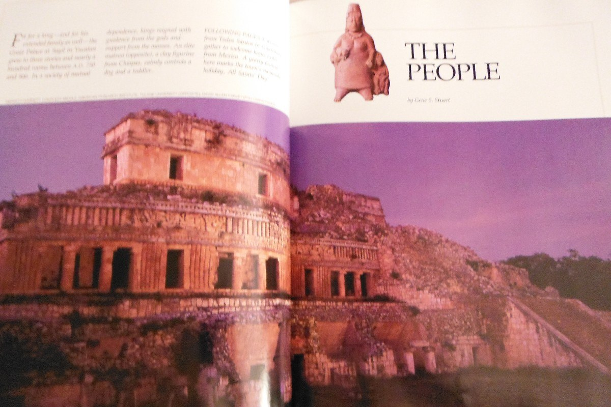 Libros National Geographic Libro Lost Kingdoms Of The Maya 1993 National Geographic