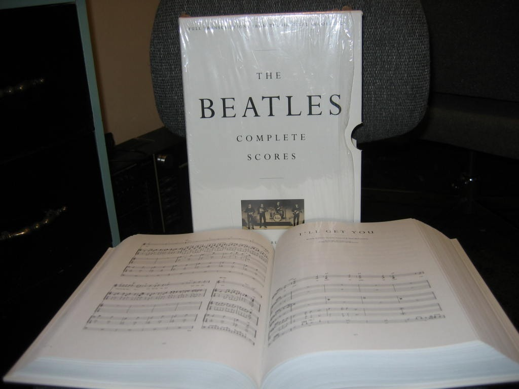 Libros Beatles Libro Partituras The Beatles Complete Scores 1 500 00