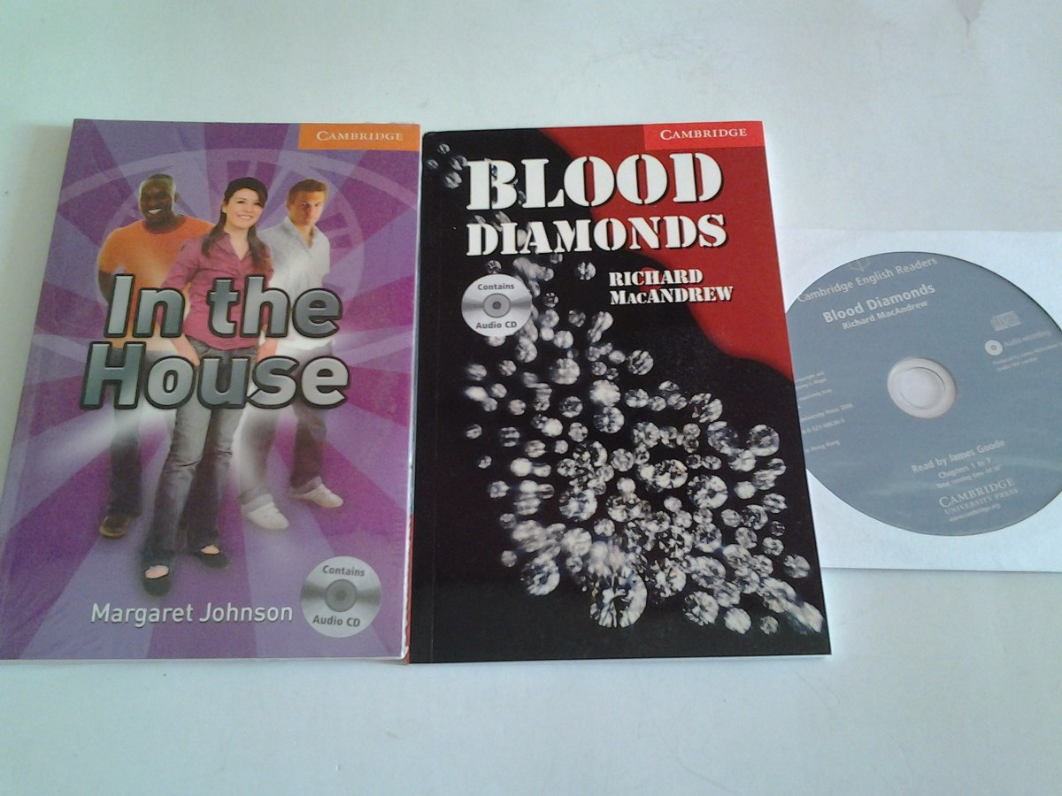 Blood Diamonds Libro Libro Readers Inglés Con Cds De Audios 5 Pzs Varios Titulos