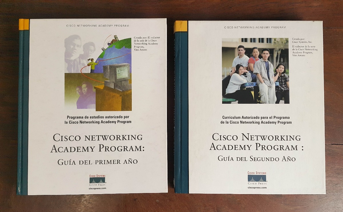 Libros Cisco Libros Cisco Networking Academy Program Guía 1º Y 2º Año 240 00