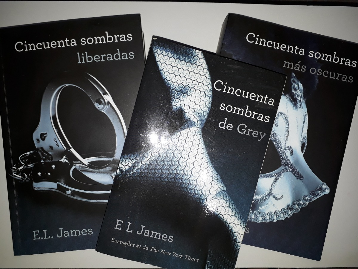 Libros Grey Libros E L James Trilogia Cincuenta Sombras De Grey Bs 1 000 00