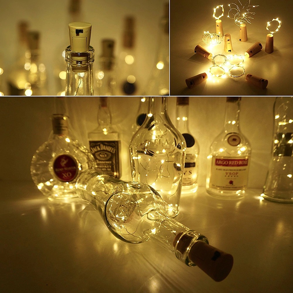 Decorar Fotos Gratis Luz Led Con Corcho Para Decorar Botellas Envío Gratis