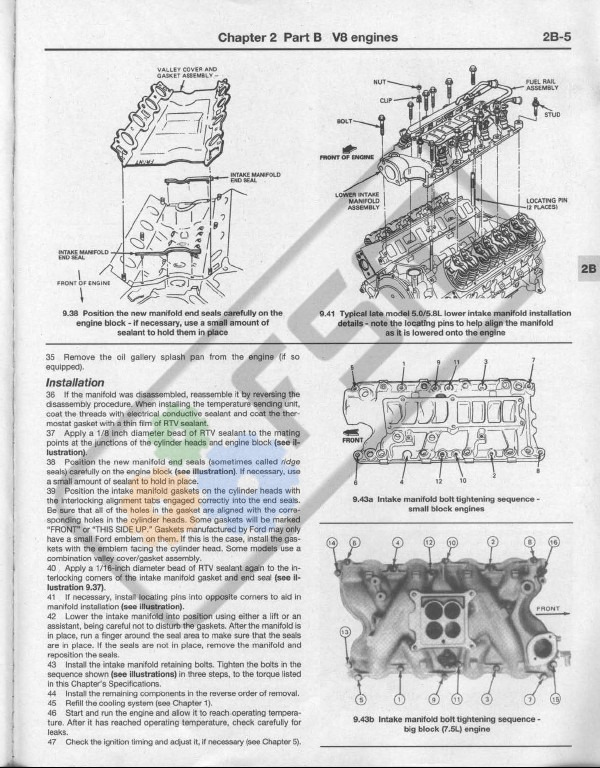 302 V8 Ford Engine Diagram circuit diagram template