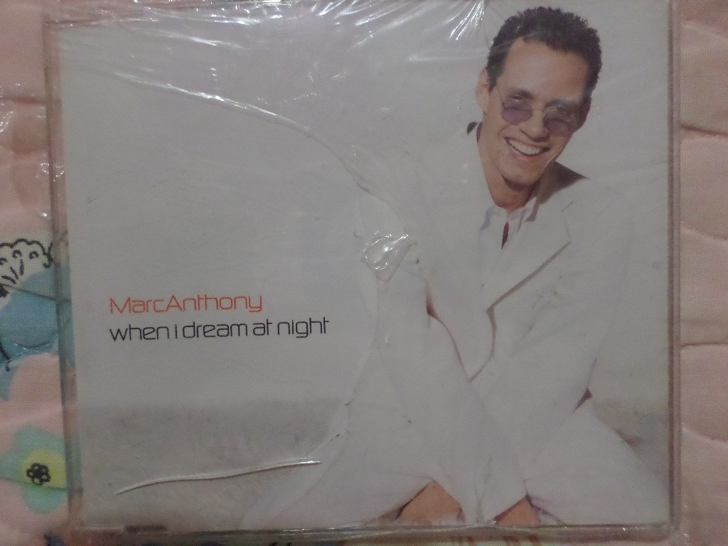 Marc Anthony Libre Marc Anthony When I Dream At Night Cd Single 100 00 En
